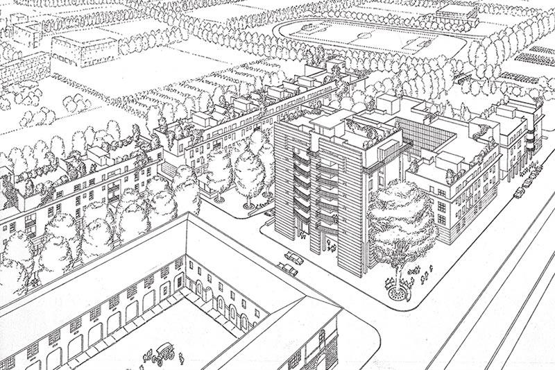 Pessano con Bornago A European project Residential complex